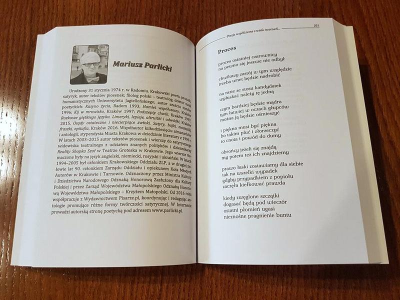 Poezja Współczesna O Wielu Twarzach Antologia